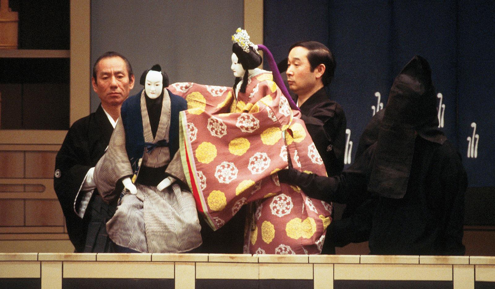 Japanese Puppets Bunraku