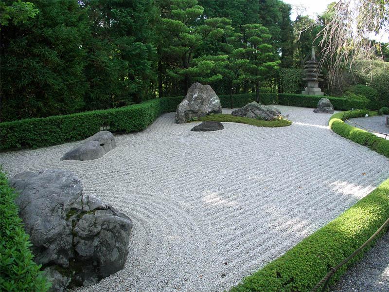 Myoshinji karesansui garden giappone in italia - Giardini zen da esterno ...